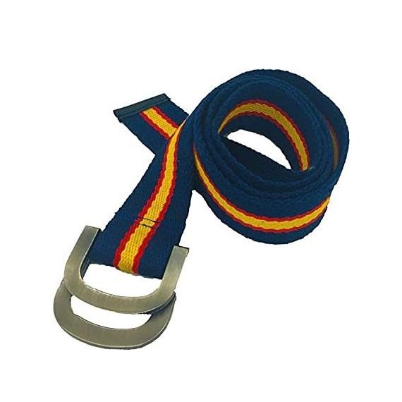 Cinturón de España de color Azul