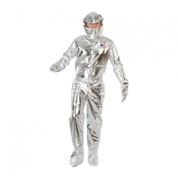 Disfraz de Astronauta de color Plata para Adultos