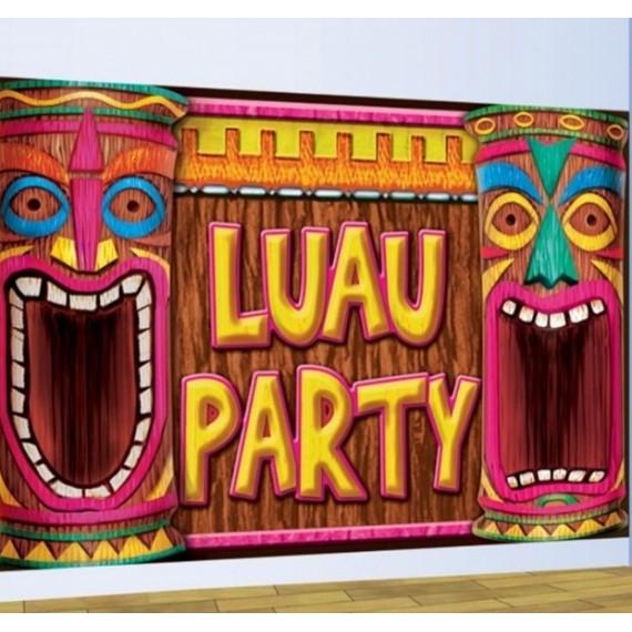 Banner de Luau Party de 75 x 120 Centímetros
