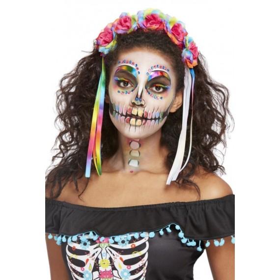 Kit de Maquillaje del Día de los Muertos Mexicano