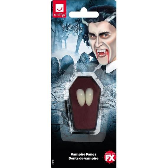 Colmillos de Vampiro de color Blanco