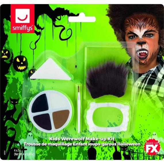 Kit de Maquillaje de Hombre Lobo Infantil