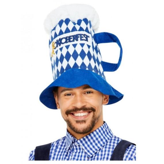 'Sombrero de Jarra de Cerveza Oktoberfest para Adulto