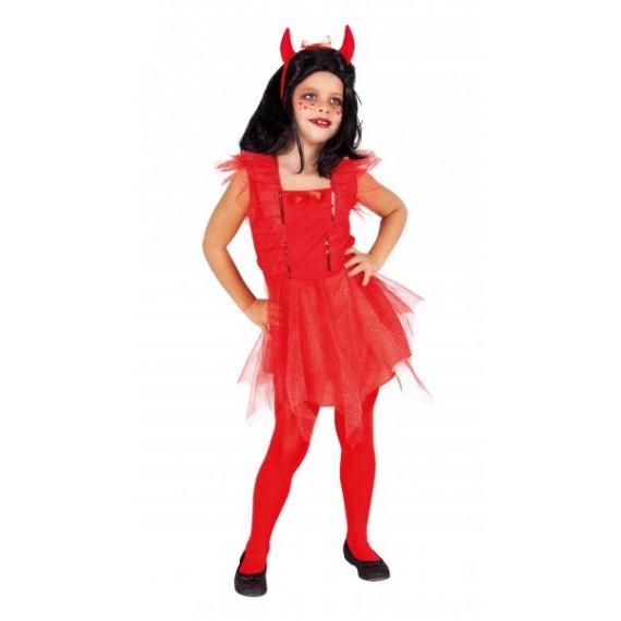 Disfraz de Diablesa Linda Infantil