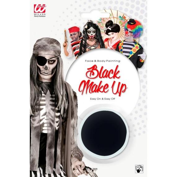 Maquillaje al Agua de 9,6 Mililitros de color Negro para Cuerpo y Cara