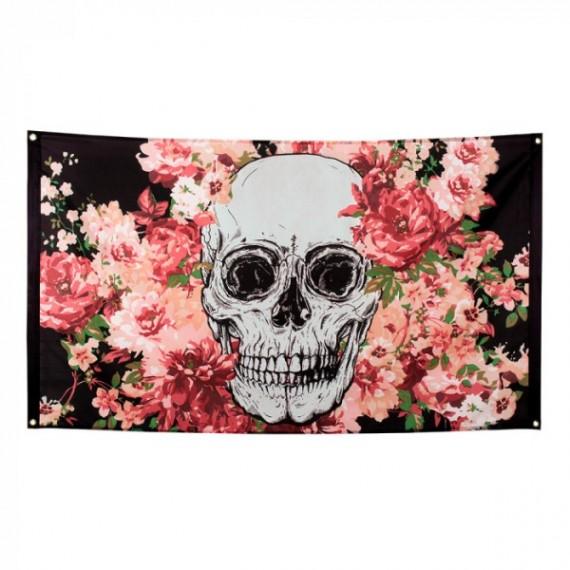 Bandera del Día de los Muertos Mexicano de 90 x 150 Centímetros