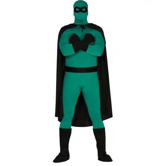 Disfraz de Superhéroe de color Negro para Adultos
