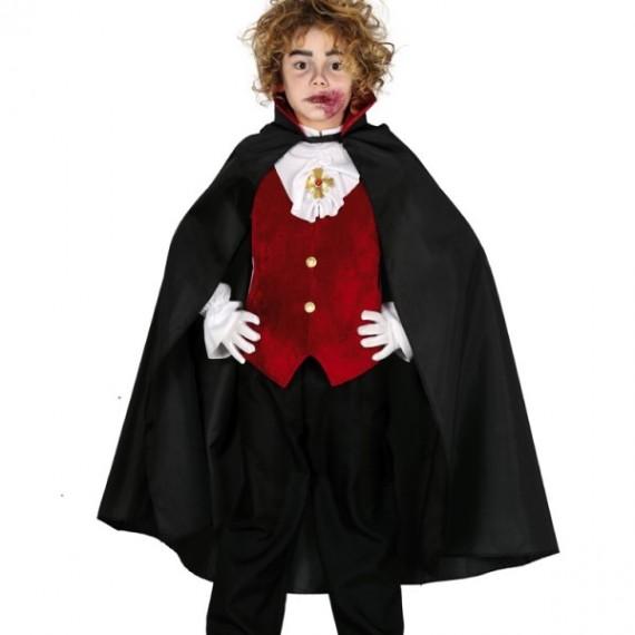 Capa de Vampiro de 90 Centímetros Infantil