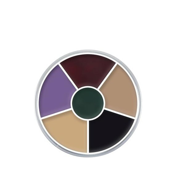 Paleta de Maquillaje en Crema Cream Color Circle Black Eye de 30 Gramos de Kryolan