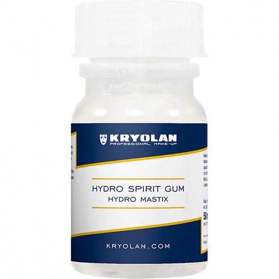 Adhesivo en Goma Mastix Hydro Spirit Gum de 50 Mililitros de Kryolan
