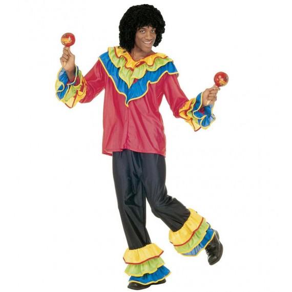Disfraz de Brasileño Samba para Adulto