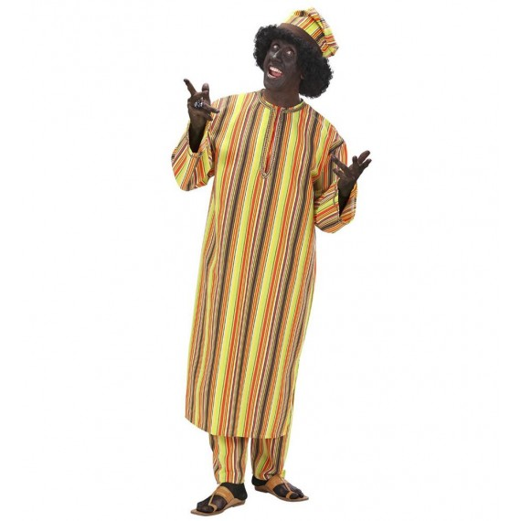 Disfraz de Africano para Adulto