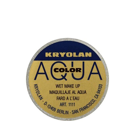 Maquillaje al Agua Aquacolor Metalic 8 Mililitros Varios Colores de Kryolan