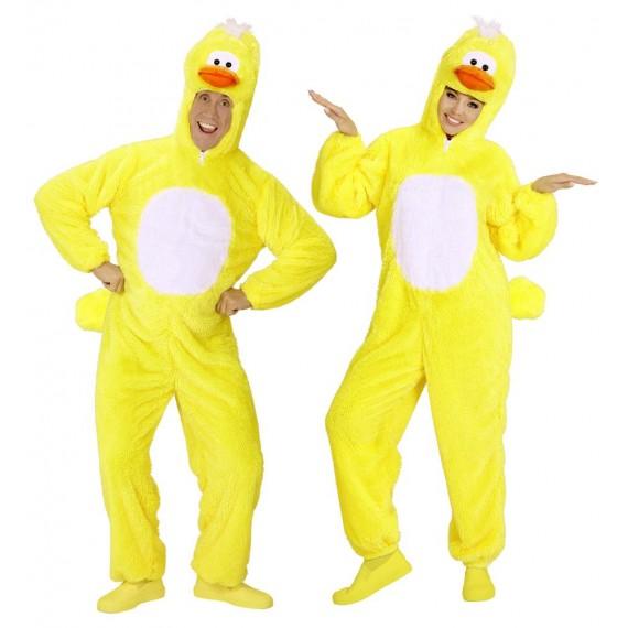 Disfraz de Patito de color Amarillo para Adulto