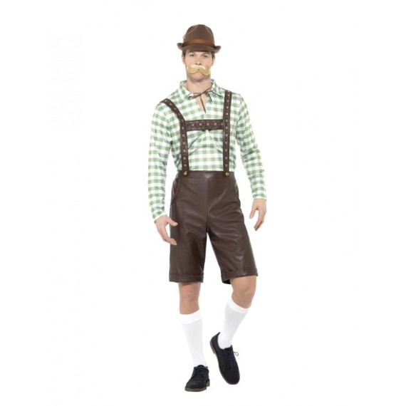 Disfraz de Hombre Bávaro para Adulto