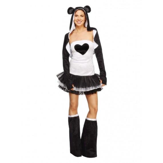 Disfraz de Panda Fever para Adulto