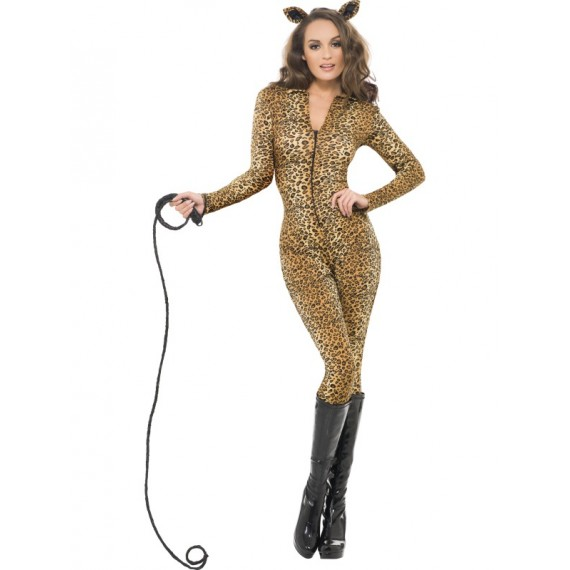 Disfraz de Leoparda Sexy Fever para Adulto