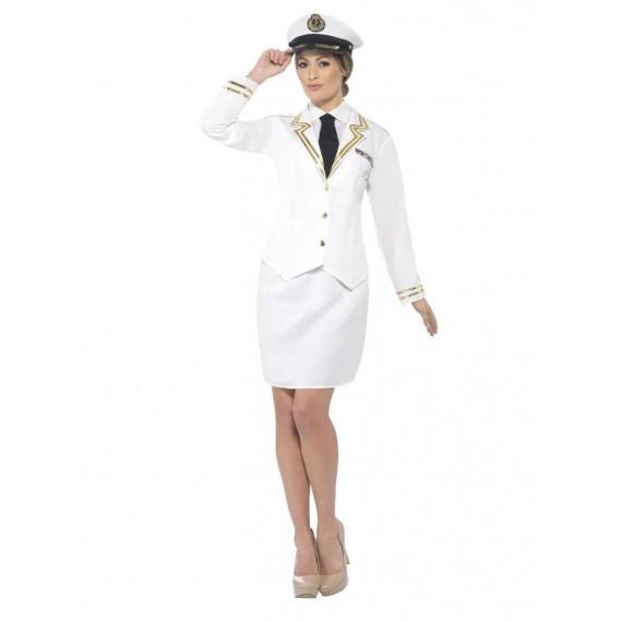 Disfraz de Oficial de la Marina para Adulto