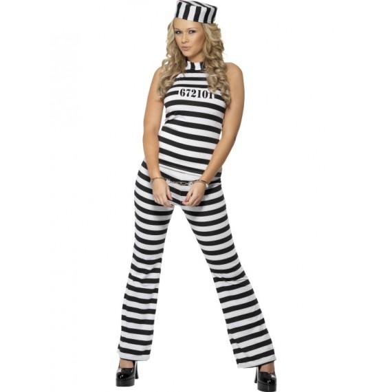 Disfraz de Prisionera Sexy para Adulto