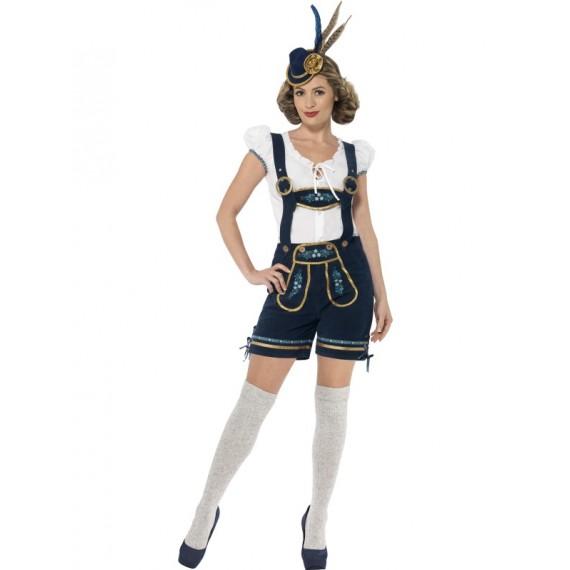 Disfraz de Bávara Tradicional Deluxe de Edelweiss para Adulto