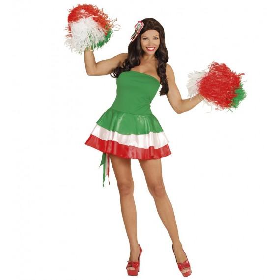 Disfraz de Animadora de Italia para Adulto
