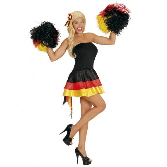 Disfraz de Animadora de Alemania para Adulto