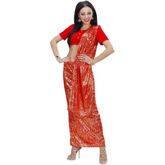 Disfraz de Bailarina de Bollywood para Adulto