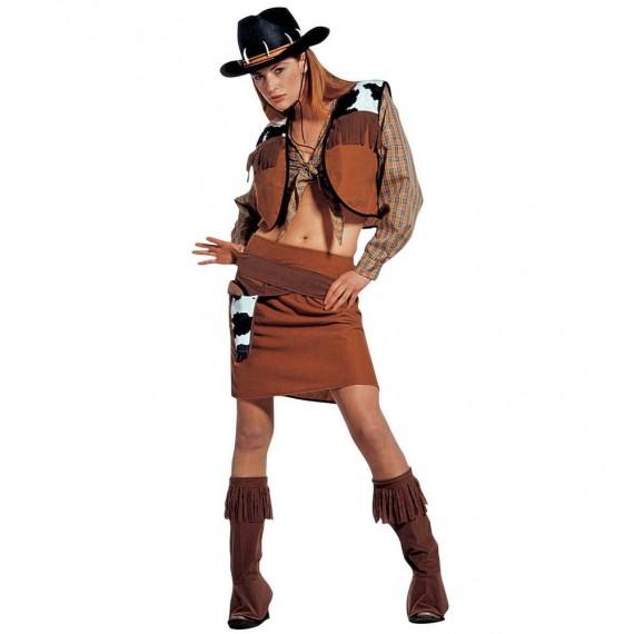 Disfraz de Vaquera del Lejano Oeste para Adulto