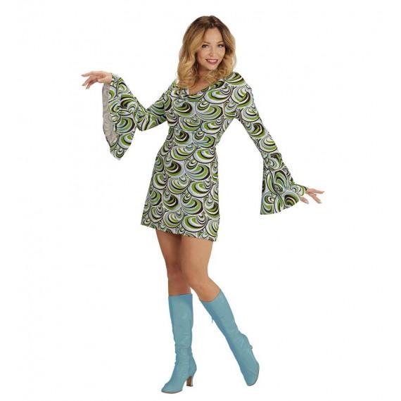 Disfraz de Chica de los años 70s para Adulto