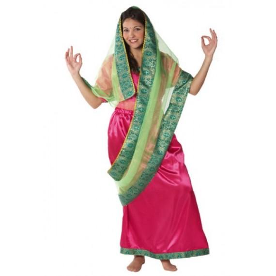 Disfraz de Mujer Hindú para Adulto