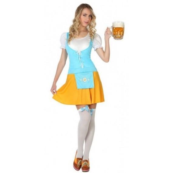 Disfraz de Bávara Alemana de Oktoberfest para Adulto