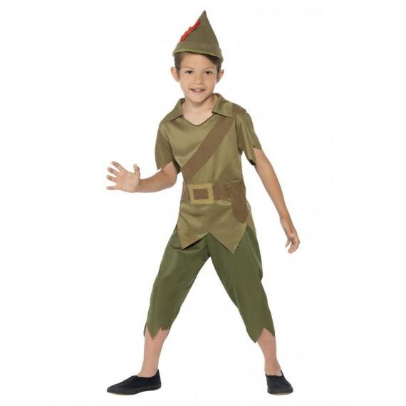 Disfraz de Robin Hood de color Verde para Niños