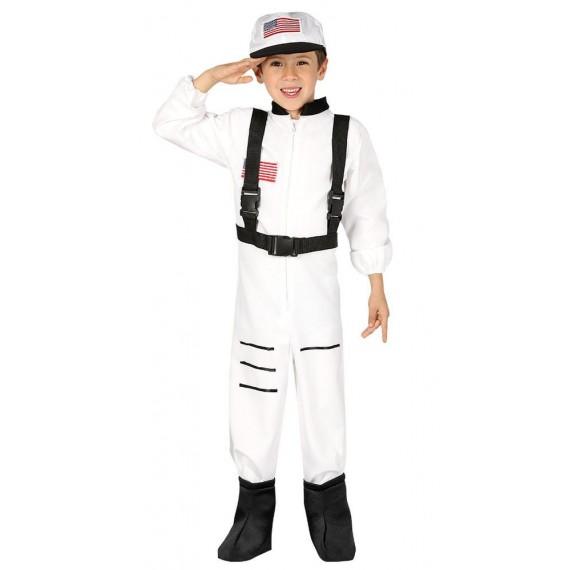 Disfraz de Astronauta de color Blanco para Niños