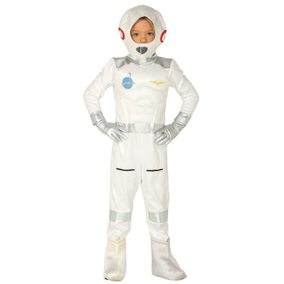 Disfraz de Astronauta de color Blanco Infantil