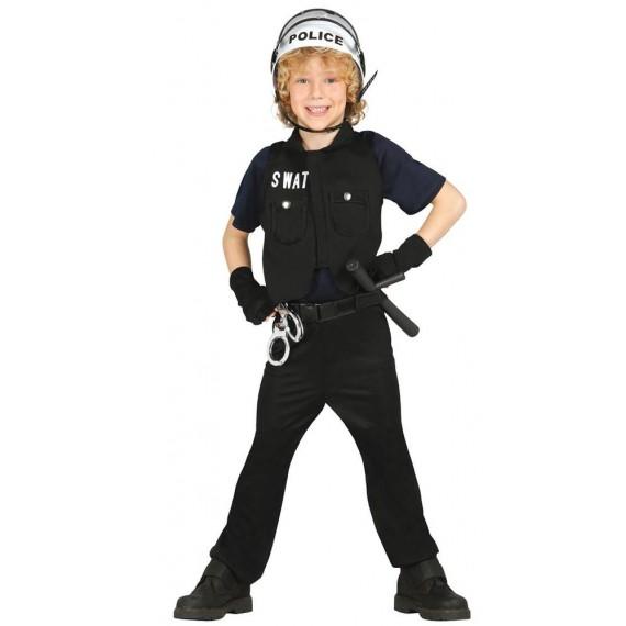 Disfraz de Policía S.W.A.T. Infantil