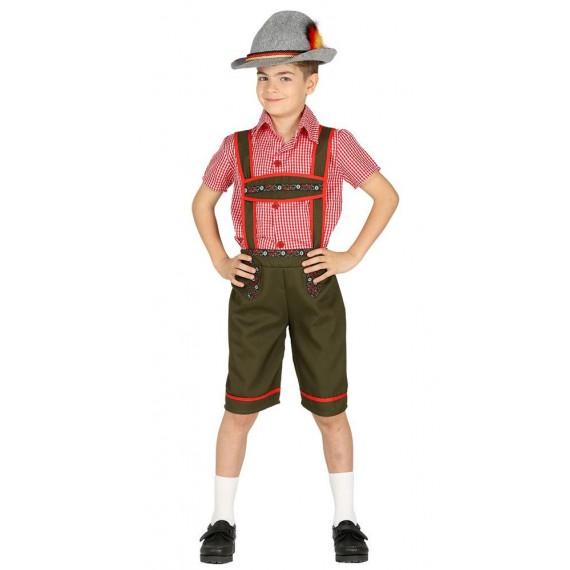 Disfraz de Tirolés de Baviera Infantil