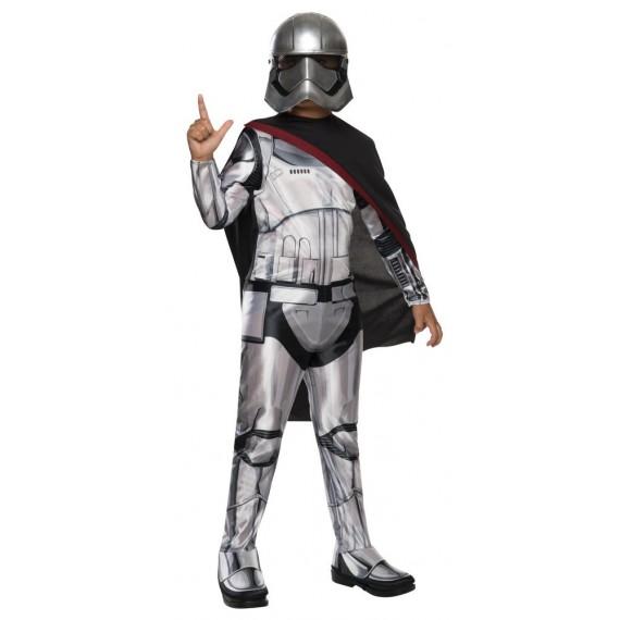 Disfraz de Capitán Phasma Deluxe de Star Wars VII Infantil