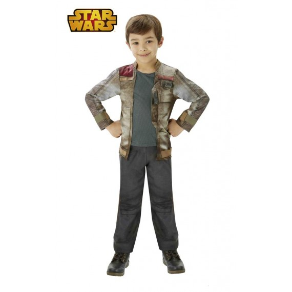 Disfraz de Finn Deluxe de Star Wars VII Infantil