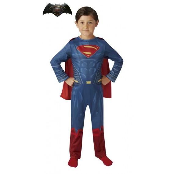 Disfraz de Superman de La Liga de la Justicia Infantil