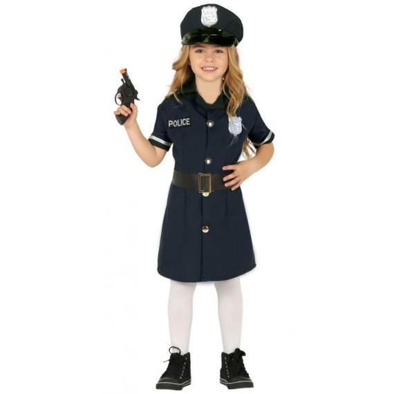 Disfraz de Niña Policía Infantil