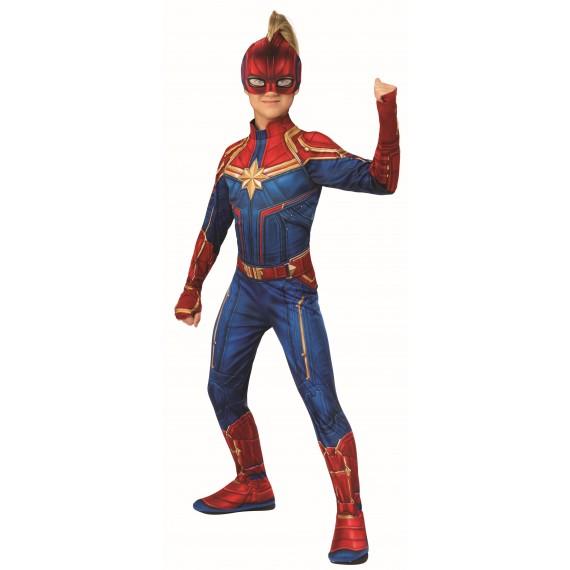 Disfraz de Capitana Marvel Clásica Infantil