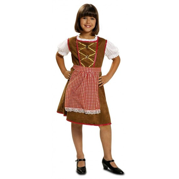 Disfraz de Tirolesa de Baviera Infantil