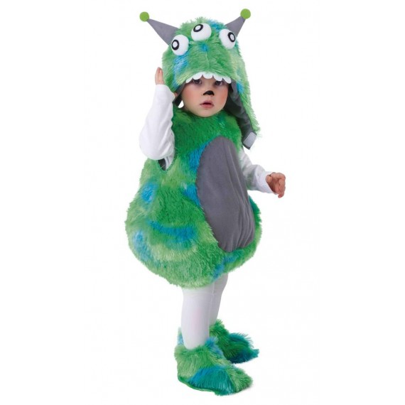 Disfraz de Alien de color Verde para Bebé
