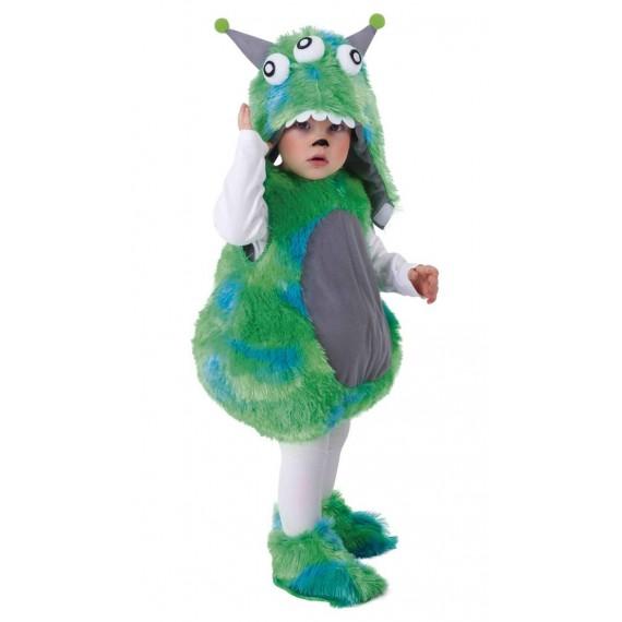 Disfraz de Bebé Alien de color Verde