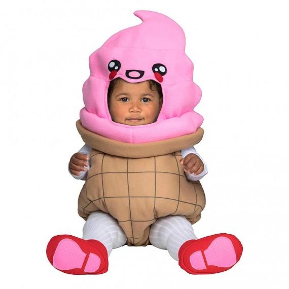 Disfraz de Bola de Helado para Bebé