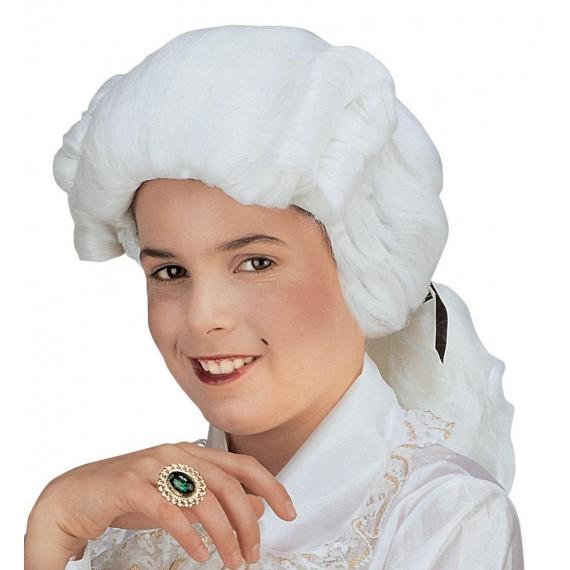 Peluca Blanca de Pequeño Lord Infantil