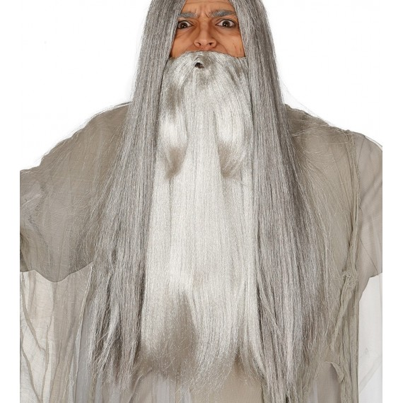 Barba Gris para Adulto