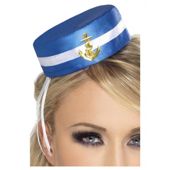 Casquete de Marinera de color Azul para Adulto