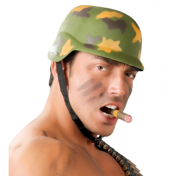Casco de Militar de color Verde para Adulto