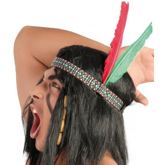 Cinta para la Cabeza de Indio para Adulto